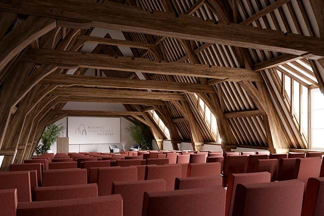 Auditorium Botanic Sanctuary Antwerp 5-star superior Leading Hotels of the World
